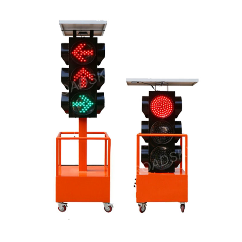 Solar Portable Signal Light Road Safety Equipment