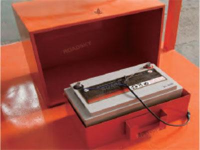 arrow board battery