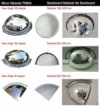 Dome-Convex-Mirror