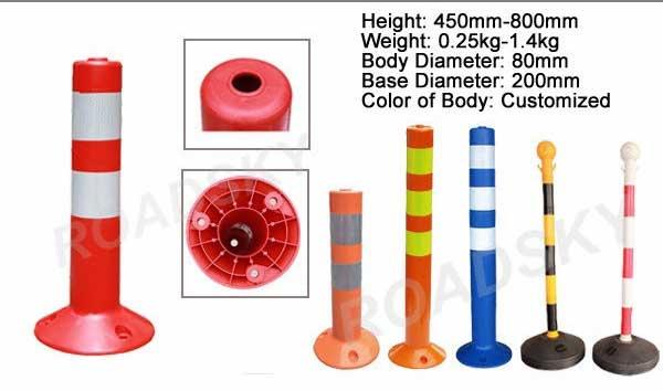 PVC Delineator Post
