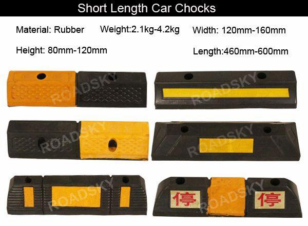 rubber parking lot wheel stopper
