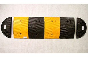 Rubber Speed Bumps Installation and Notices
