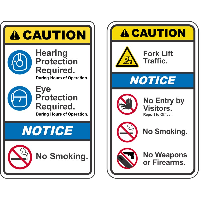 Safety Signs Caution Signs Warning Signs Safety Signs