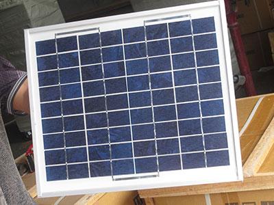 arrow board solar panel