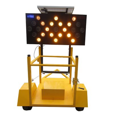 Solar Arrow Board Trailer