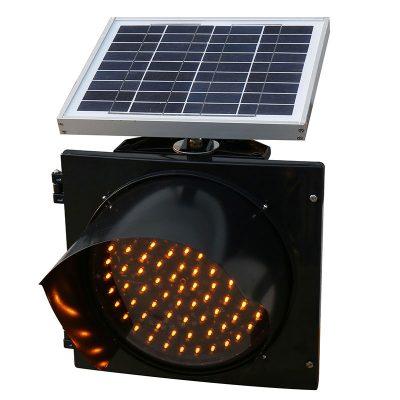 Solar Flashing Beacon