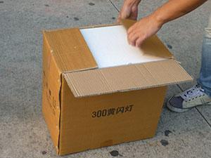 solar flashing beacon package