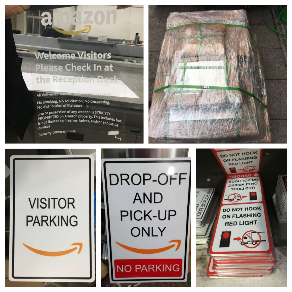 Custom Road Signs for American Amazon!