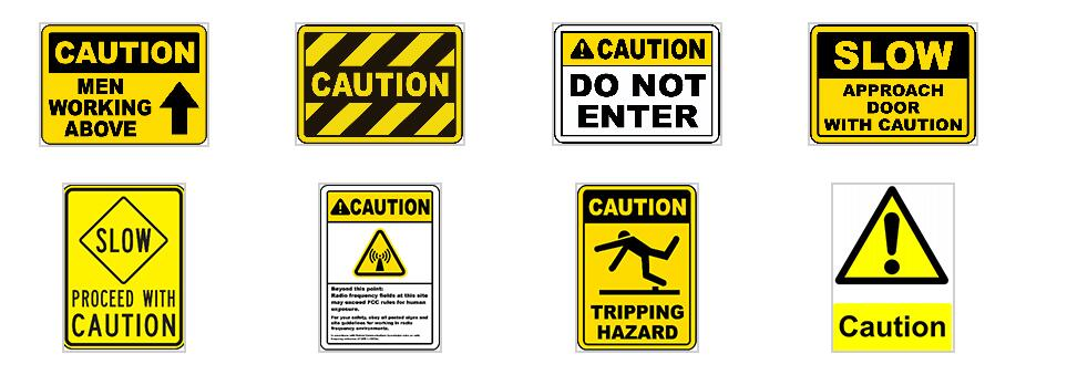 American Standard Safety Signs